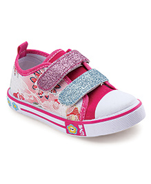 Cute Walk by Babyhug Casual Shoes - Fuchsia