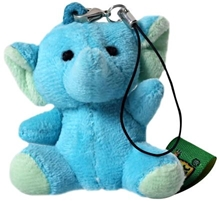 Wild Republic - Elephant Blue Keitai