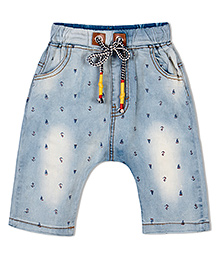Raine And Jaine Boys Denim Shorts - Blue