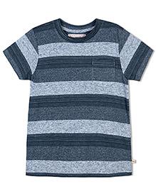 Raine And Jaine Dual-Tone T-Shirt - Grey