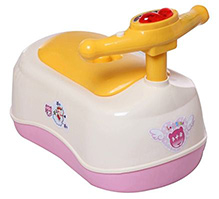 Fab N Funky Musical Potty - Scooter Pattern