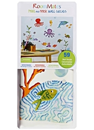 Peel & Stick Wall Decals - Octopus