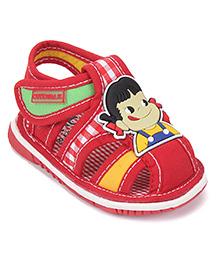 Cute Walk by Babyhug With Doll Print - Red