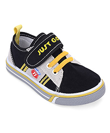 Cute Walk by Babyhug Casual Shoes - Black