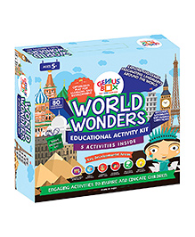 Genius Box World Wonders Activity Kit - Multi Color