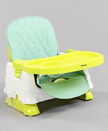 Babyhug Raise Me Up Baby Booster Seat - Green White