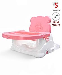 Babyhug Raise Me Up Baby Booster Seat - Pink White