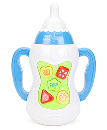 Bottle Shaped Musical Toy - White Green