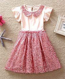 Dress My Angel Royal Glitter Dress - Pink