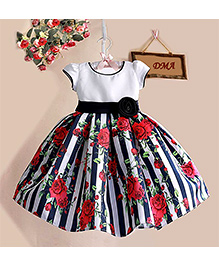 Dress My Angel Tea Party Dress - Black & White