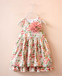 Dress My Angel Elegant Look Dress - Peach