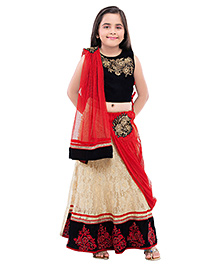 Betty By Tiny Kingdom Trendy Ghagra Choli Set - Red