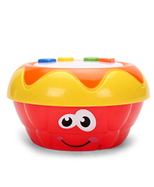 Cartoon Face Musical Drum (Color May Vary)