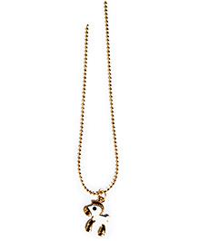 A.T.U.N Pony Charm Necklace - Silver & Gold