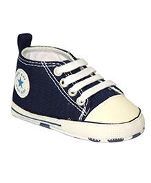 Kiwi Sneakers Style Booties - Navy White