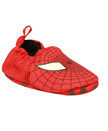 Kiwi Slip On Booties Spider Man Face - Red