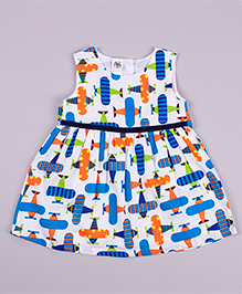 Petite Kids Flight Deck Dress - Multicolour