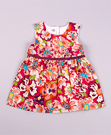 Petite Kids Hawaiin Delight Dress - Red