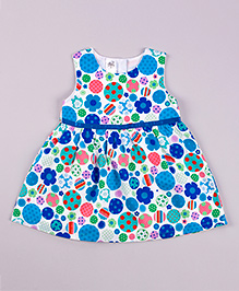 Petite Kids Cleo Elley Blue Dress - Blue