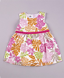 Petite Kids Aloha Dress - Multicolour