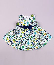 Petite Kids Tucks For Girls Dress - Multicolour