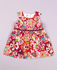 Petite Kids Hawaiin Delight Dress - Red