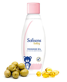 Softsens Baby Massage Oil - 100ml