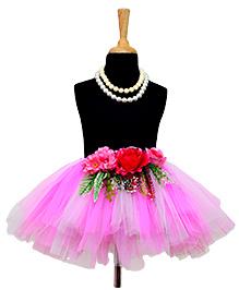 Tu Ti Tu Garden Fairy Tutu Skirt - Pink & White
