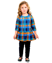 Cherry Crumble California Checkered Dress - Multicolour