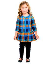 Cherry Crumble California Checkered Dress - Multicolour
