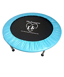 SkyJumper Premium Trampoline Blue Black - 48 Inches