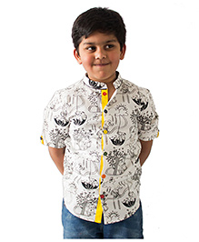 Tiber Taber DIY Color And Wear Shirt - White