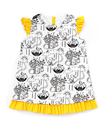 Tiber Taber DIY Color And Wear Dress - White