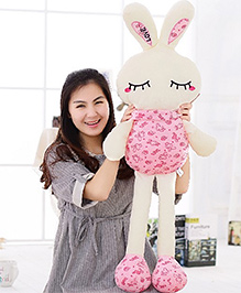 EZ Life 7 Color LED Light Bunny Pillow Plush Toy - Pink