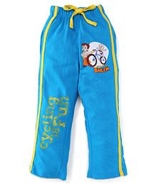 Chhota Bheem Full Length Track Pants With Drawstring - Blue