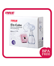 Farlin Ele Cube Manual & Electric Breast Pump