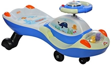 BSA Toddler Slidor Swing Car - Blue