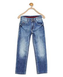 612 League Full Length Jeans - Blue