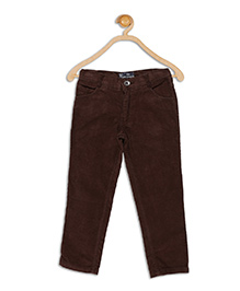 612 League Full Length Corduroy Pants - Brown