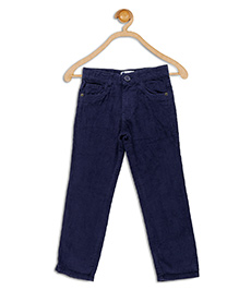612 League Full Length Corduroy Pants - Royal Blue