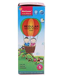 Morisons Baby Dreams Polypropylene Plastic Regular Feeding Bottle Green - 125 Ml