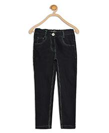 612 League Full Length Denim Jeans - Black