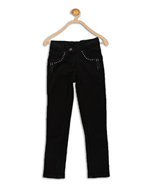 612 League Full Length Denim Jeans - Black