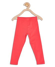 612 League Basic Solid Color Leggings - Dark Fuchsia