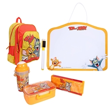 Tom and Jerry - Complete School Kit with White Board & Tom and Jerry Bag