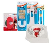 Baby Safety Kit(Cabinet Lock,Refrigerator Latch,Loop Lock,Drawer Guard & Door Stopper)