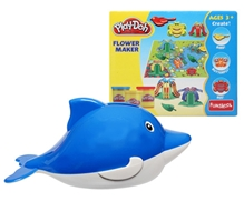 Funskool Play Doh with Dolphin Coin Box