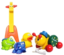 Simba Pull Along Toy with Nuby Squiters & Ok Play-Pet Giraffe