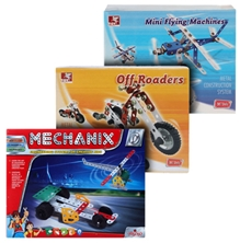Mechanical Construction Set (Mechanix, Flying Machines & Off Roaders)