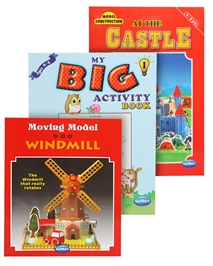 Navneet's Model Construction Books(Castle & Windmill) & My Big Activity Book